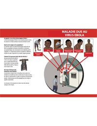 Brochure: Ebola Virus Tri-Fold (French)