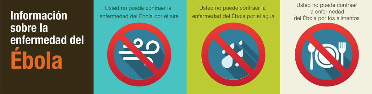 You can't get Ebola through air, water, or food (Infographic)