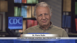 Dr. Pierre Rollins, Centers for Disease Control and Prevention, USA