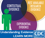 understanding evidence website badge