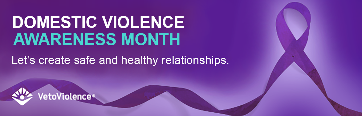 Domestic Violence Awareness Month Slider