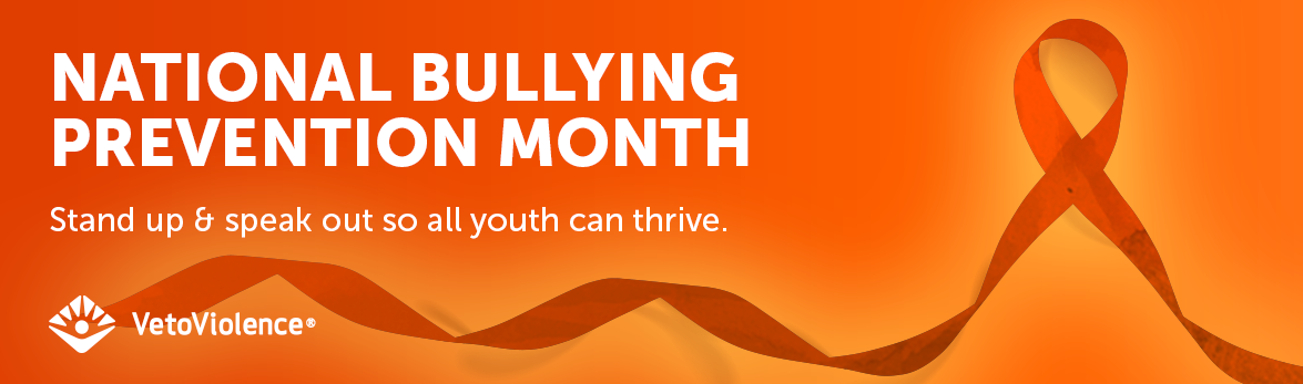 Bullying Prevention Awareness Month Slider