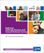 cover of National Intimate Partner and Sexual Violence Survey 2010 Summary Report