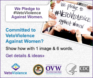 1 Photo, 6 Words. #VetoViolence