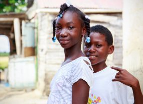 Two out of three children in Haiti are victims of physical violence