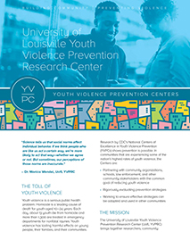 University of Louisville Youth Violence Prevention Research