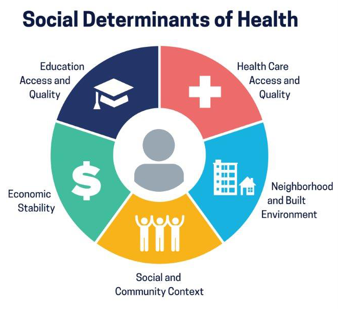 Social Determinants of Health, Health Equity, and Vision Loss | subsection title | section title | site title