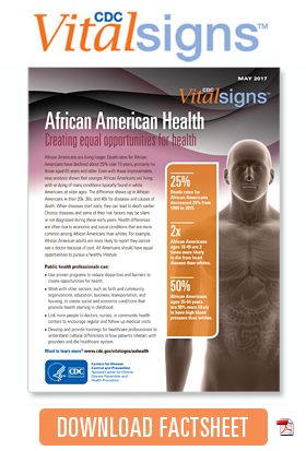 Download Factsheet African American Health