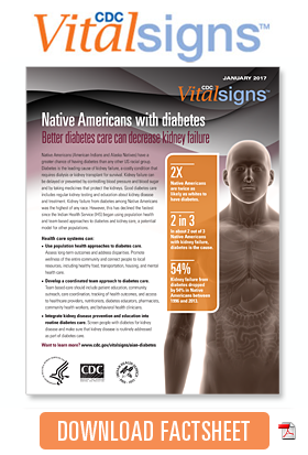 Download Factsheet: Native Americans with diabetes