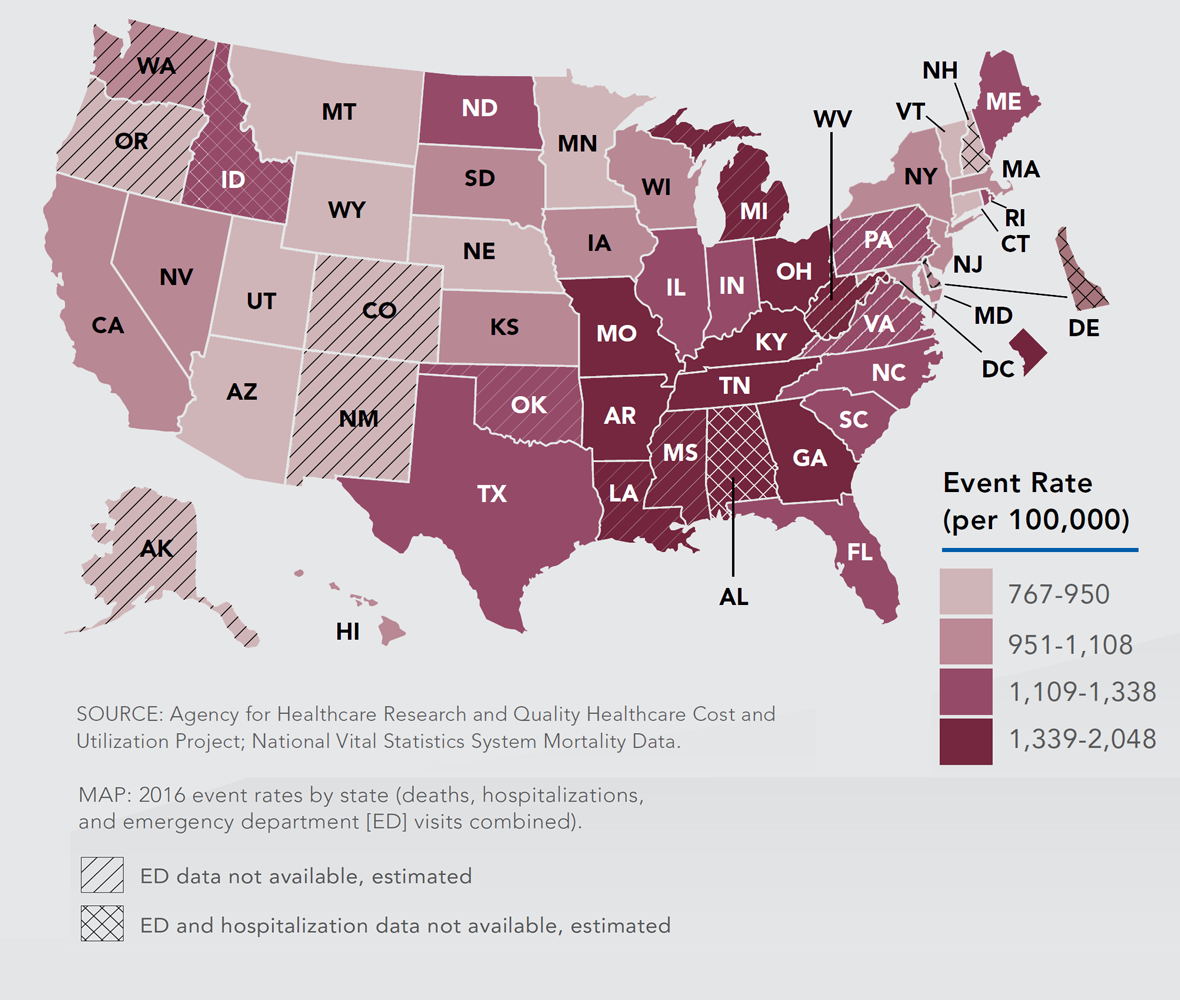 Map: Small changes in every state will have a big impact.