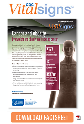 Download factsheet: Cancer and obesity