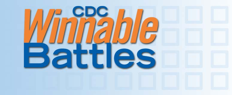 CDC Winnable Battles