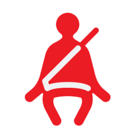 Motor safety icon