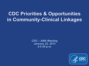 CDC Briefing to the American Medical Association Thumbnail