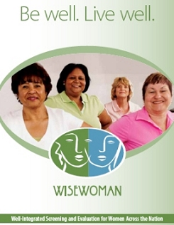 WISEWOMAN Brochure cover.