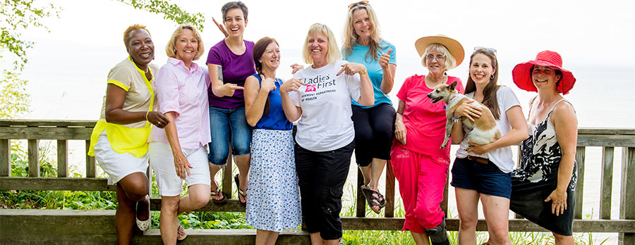 The Ladies First group of Vermont Weight Watchers.