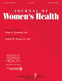thumbnail image of journal of women's health