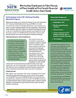 Motivating Employees to Take Charge of Their Health at First South Financial Credit Union:  Case Study cover