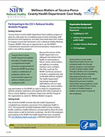 Wellness Matters at Tacoma-Pierce County Health Department: Case Study cover