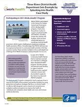 Three Rivers District Health Department case study cover