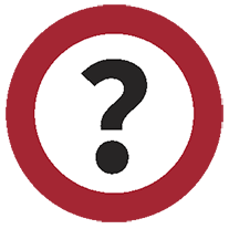 REd Question mark Icon