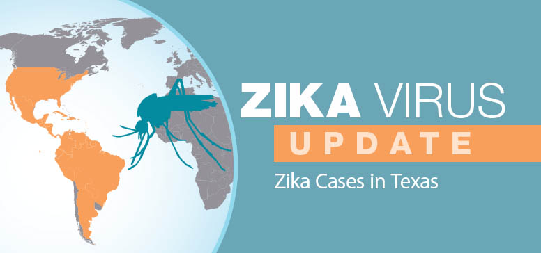 Zika virus update: Zika Cases in Texas