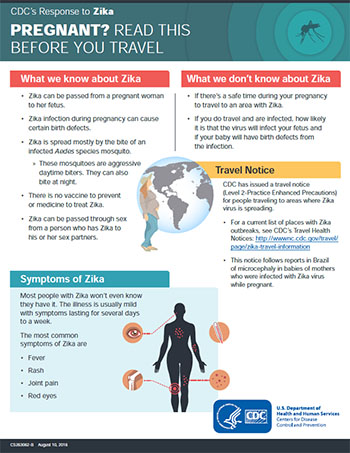 Infographic thumbnail: Pregnant? Read this before you travel.