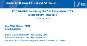 Blood Safety TF Sustainment Webinar Slides Screenshot