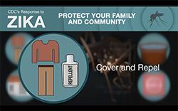 Imagen en miniatura de la captura de pantalla Cubrir y repeler: prevención del zika en Puerto Rico