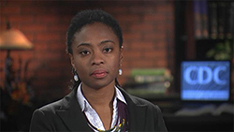 Screenshot of a medscape video featuring Dr. Obuyebo.