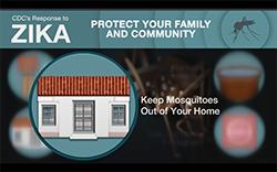 Captura de pantalla del video Mantener a los mosquitos fuera del hogar: prevención del zika para Puerto Rico