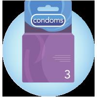 Imagem de caixa de preservativos