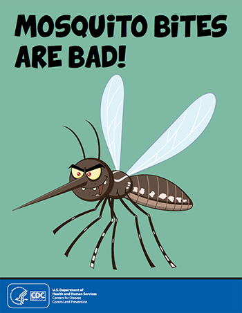 Mosquito bites are bad infographic thumbnail