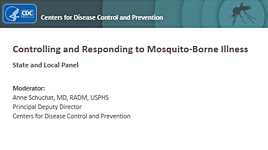 Controlling and Responding to Mosquito-Borne Illness